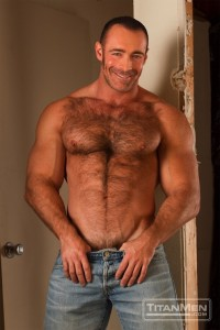 'Down Dirty'-Titan-Brad-Kalvo-chest-jeans-smile