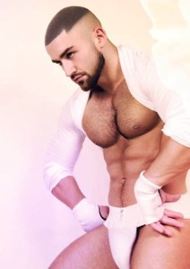 Francois-Sagat-Exterface-photos-pink (2008)